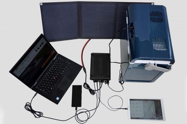 SUNBEAMsystem selected Smart Power Station fully equipment connect